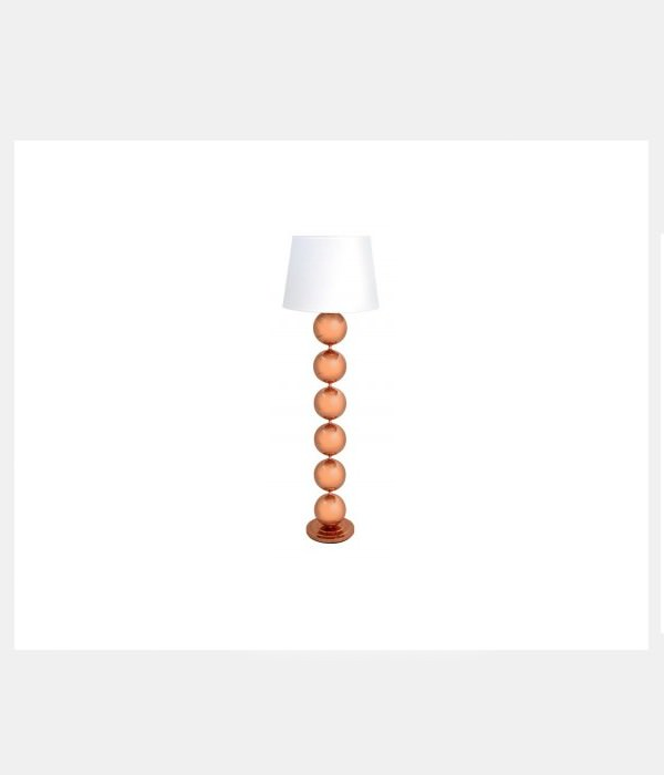 Bobble Floor Lamp in Copper
