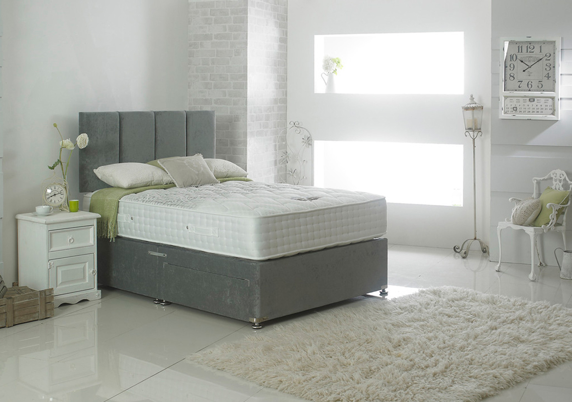 Nimbus 1000 luxury divan bed mattress race furniture for Luxury divan beds