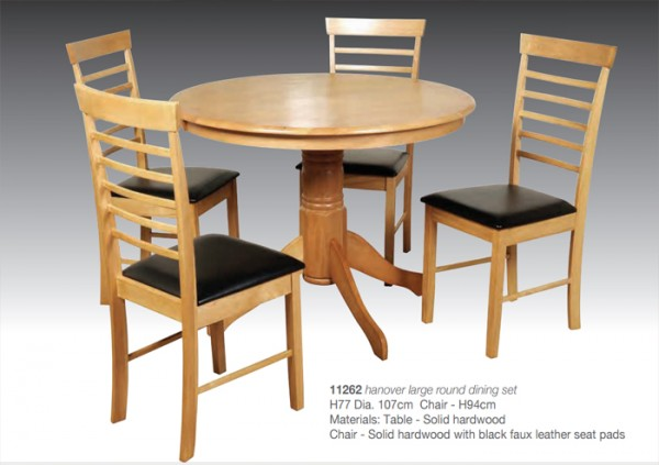 Salisbury Extension Dining Table Chairs