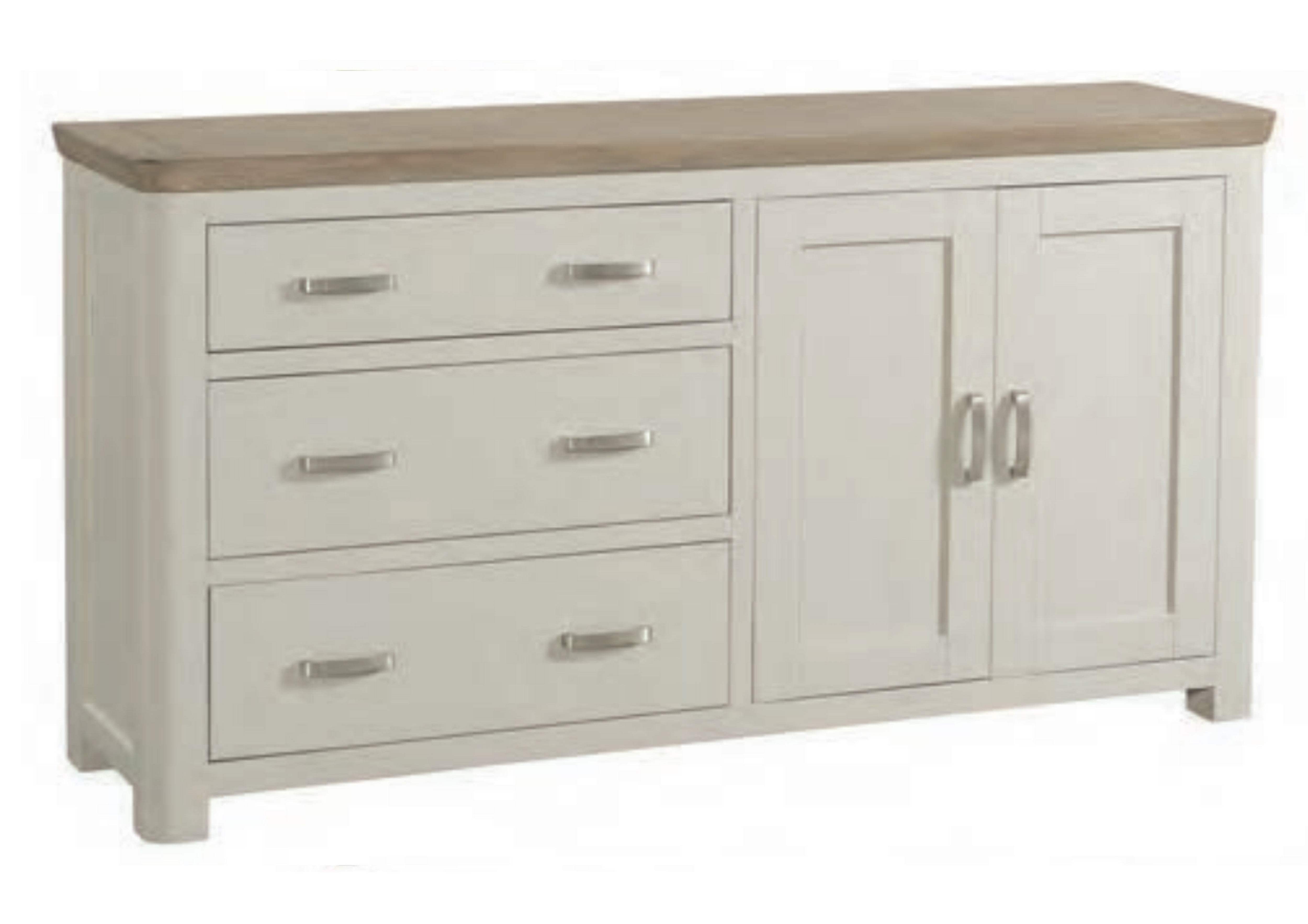 Treviso Painted Large Sideboard Race Furniture Middlesbrough
