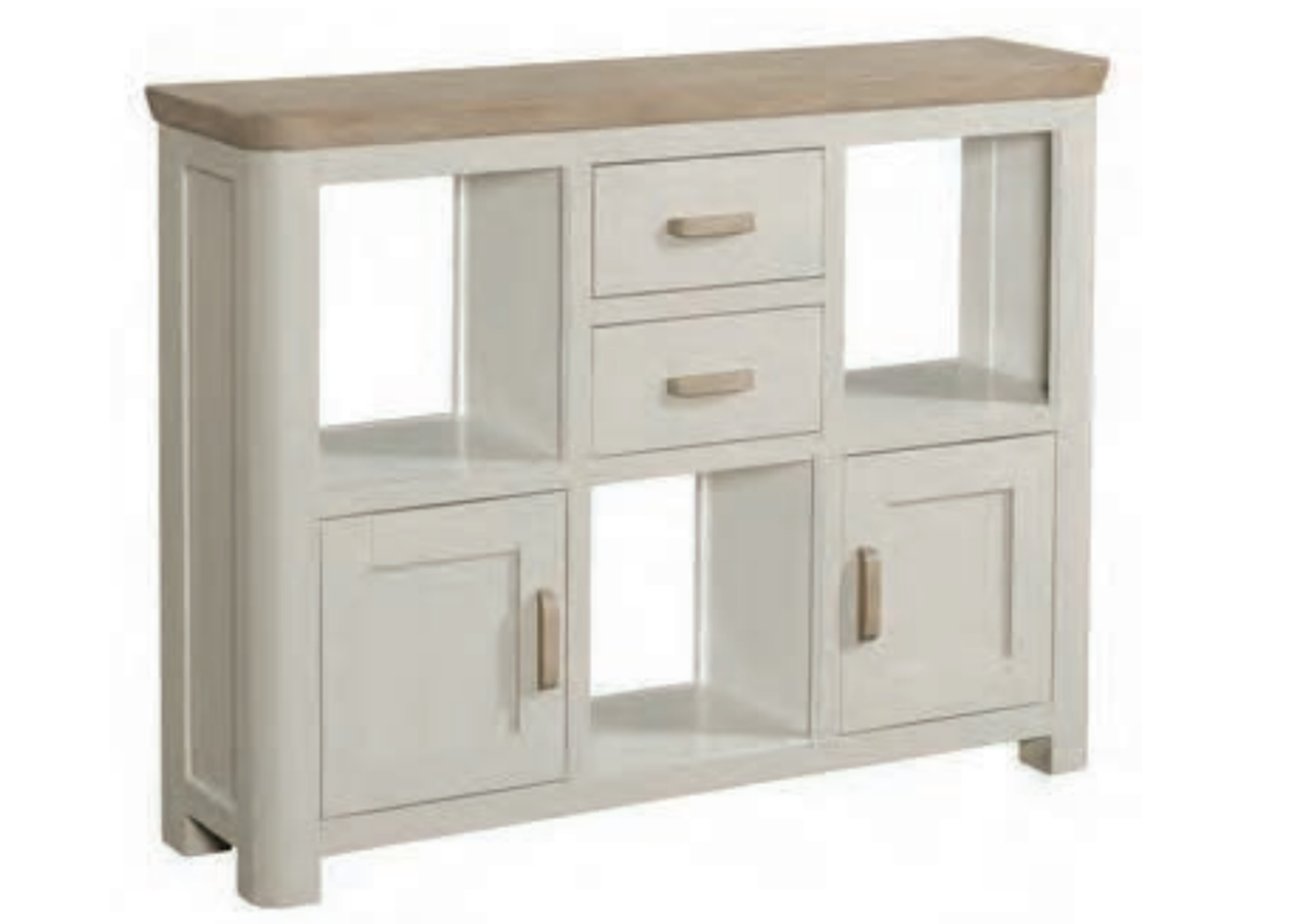 Treviso Painted Low Display Unit Race Furniture