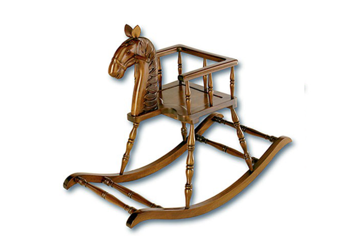 Mahogany Rocking Horse Race Furniture Middlesbrough