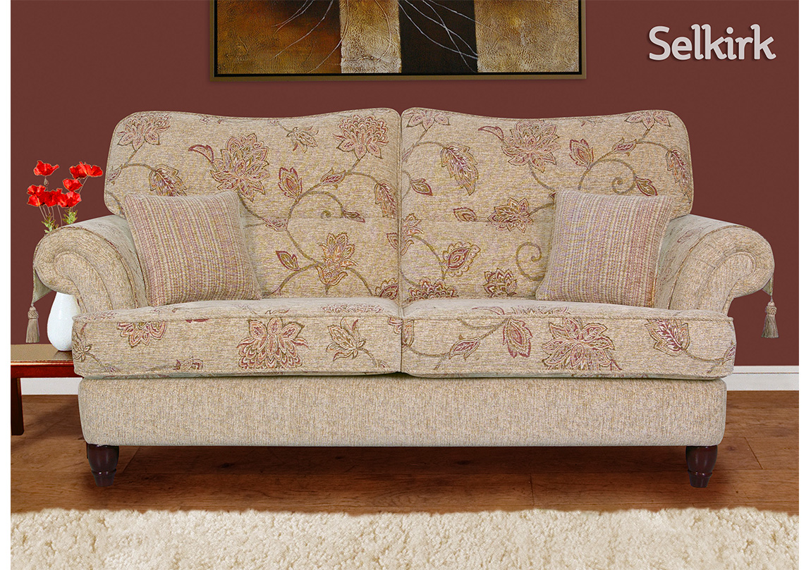 Selkirk 3 Seater Sofa Race Furniture Middlesbrough