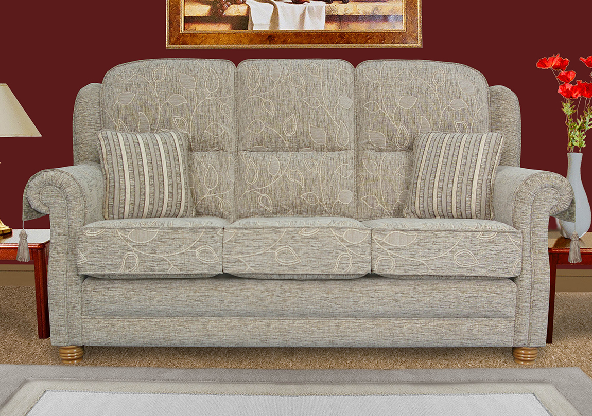 Alicante 3 Seater Sofa Race Furniture Middlesbrough