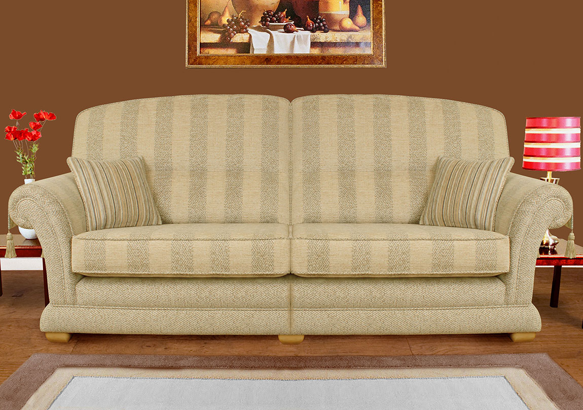 Valletta 4 Seater Sofa Race Furniture Middlesbrough