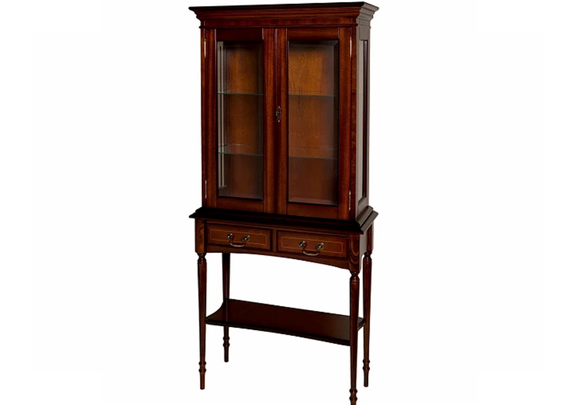 Reproduction Hall Table Display Cabinet Race Furniture