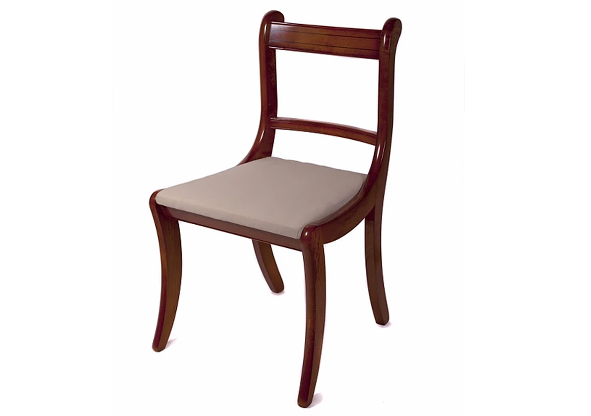 Reproduction Scroll Dining Chair Race Furniture