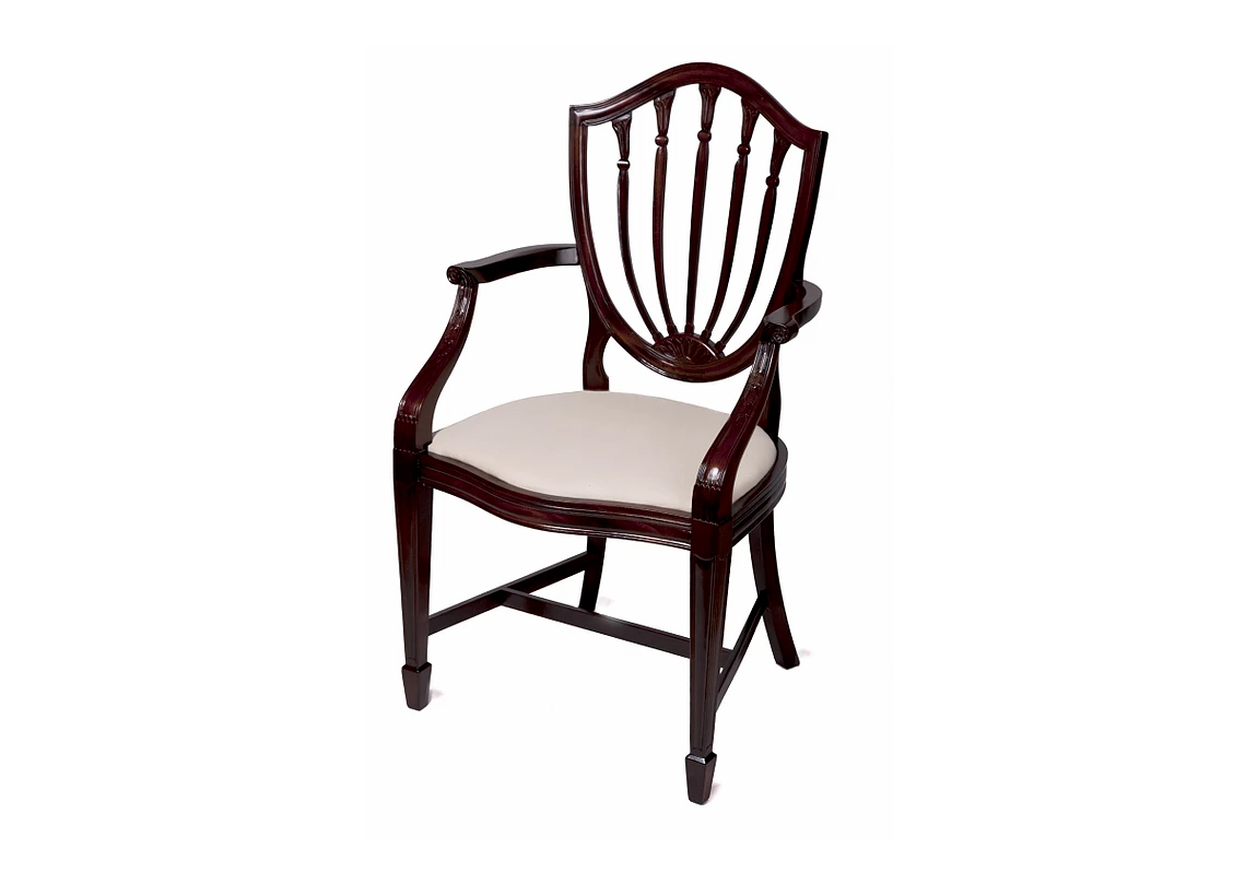 Reproduction Adams Dining Chair Race Furniture Middlesbrough