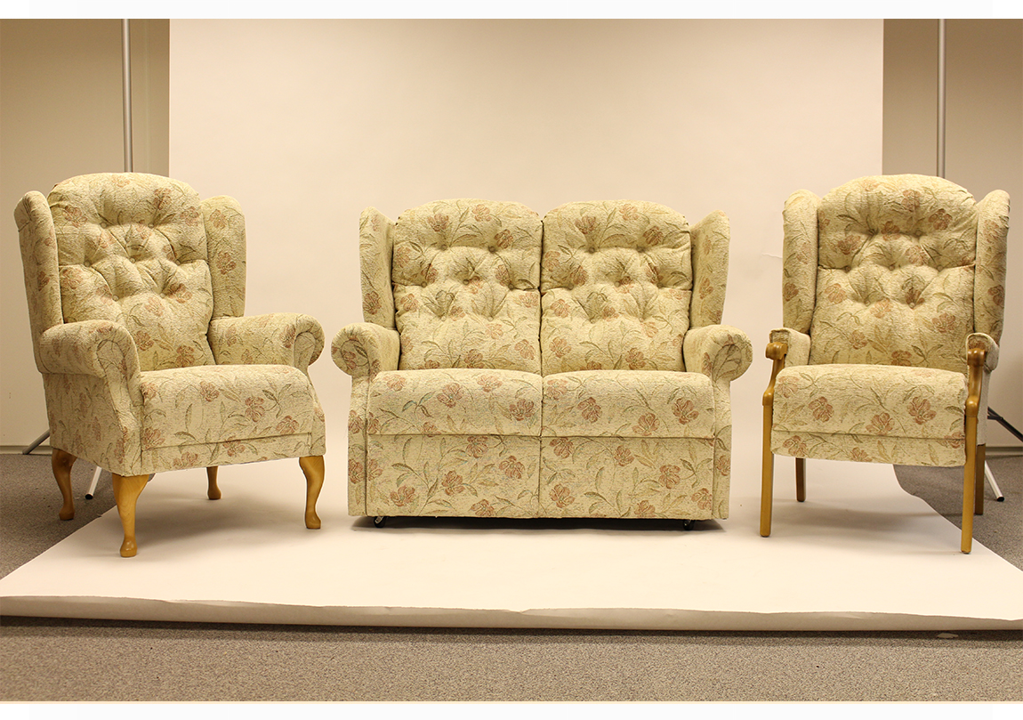 Abbey Upholstered 2 Seater Sofa Race Furniture Middlesbrough
