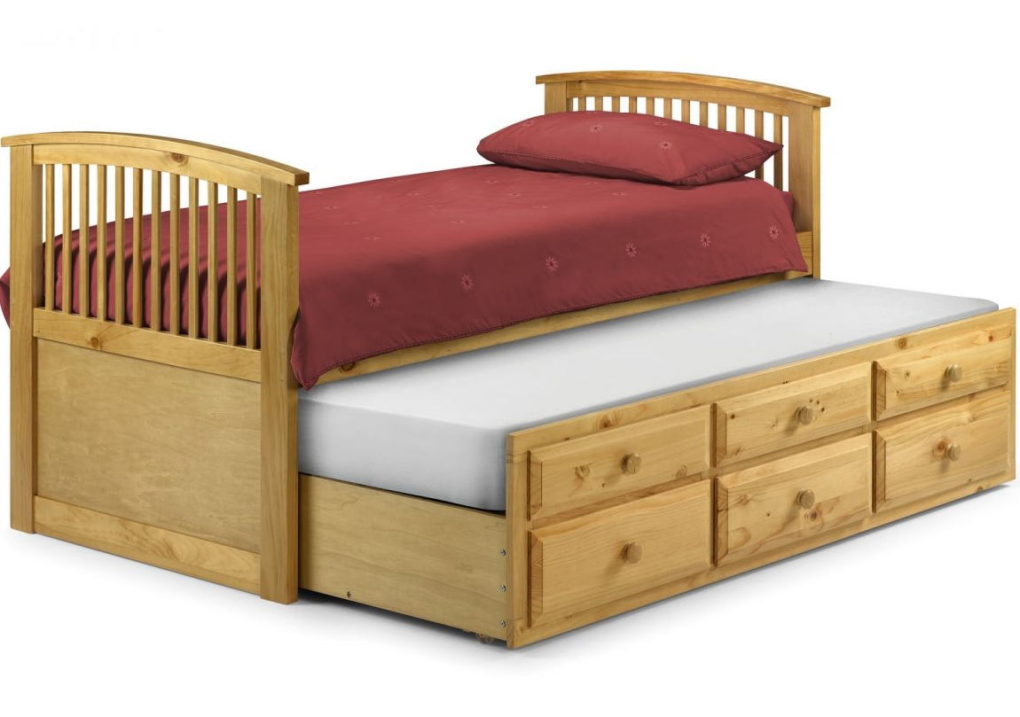 Hornblower wooden bed antique pine race furniture