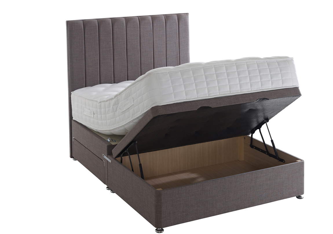 Vermont 1000 Ottoman Bed Amp Mattress Race Furniture